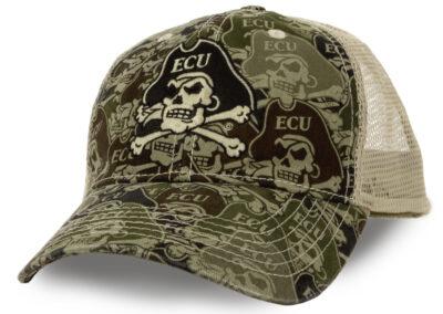 ECU Trucker Cap Product Photography