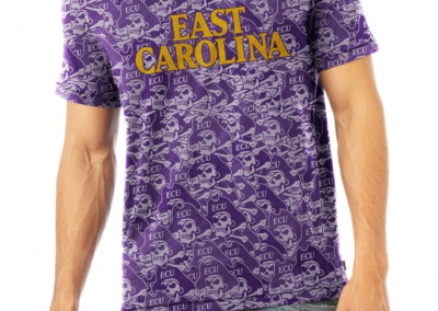 ECU Collegiate Apparel Product Photography