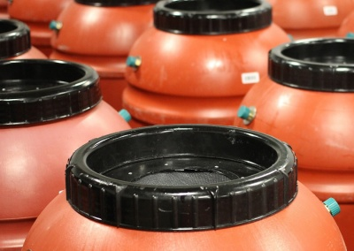 Rain Barrels Product Photography