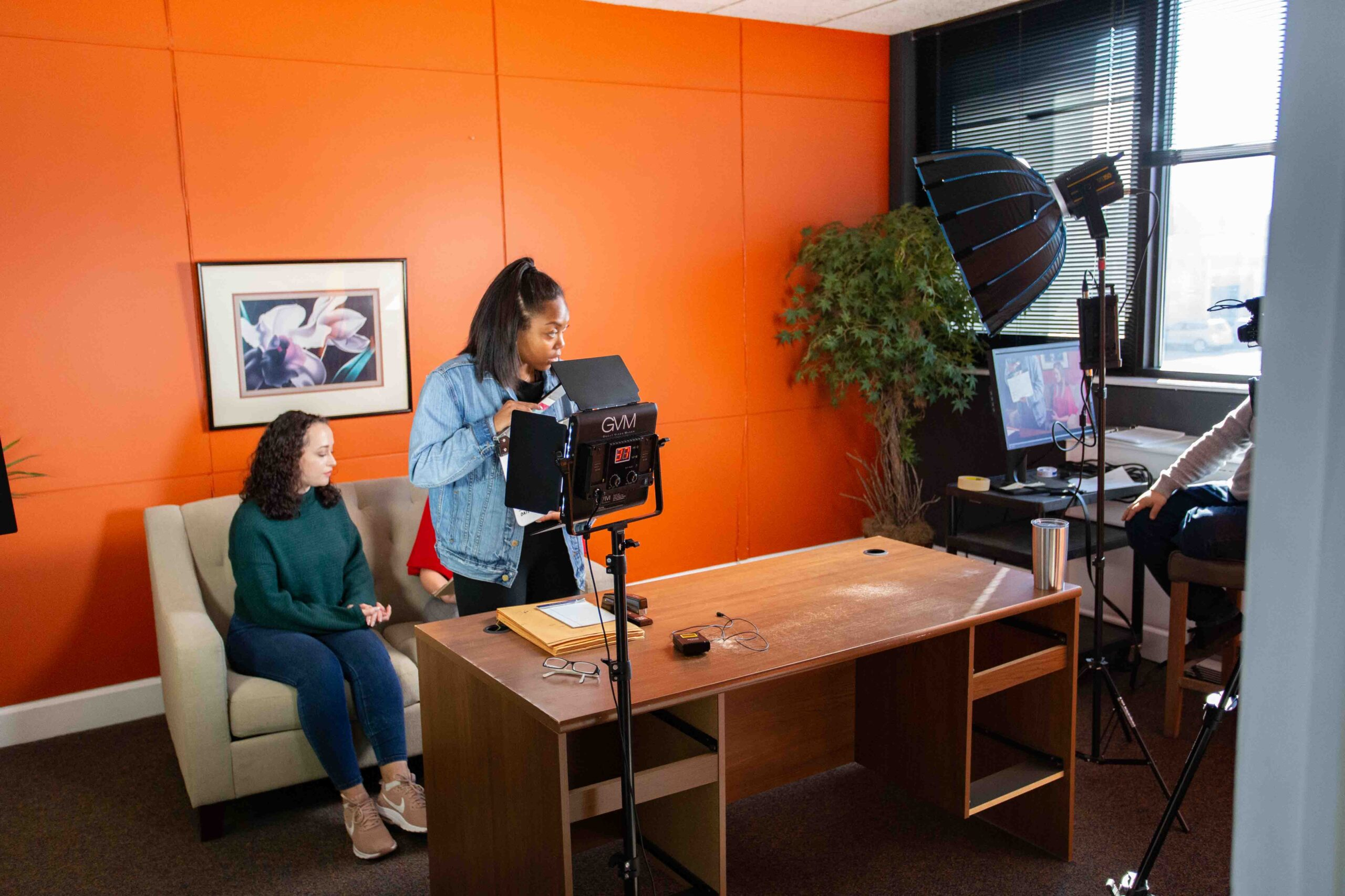 Commercial Video Production for Puppet Commercial BTS